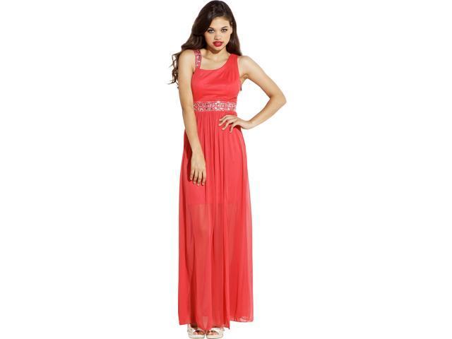 Chiffon Overlay Toga Prom Dress Evening Gown - Newegg.com