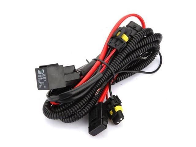 Gp thunder hid conversion kit universal single beam relay wiring