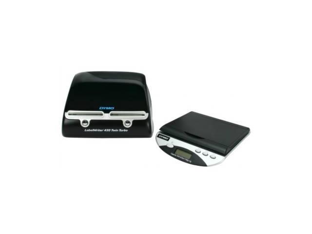 Dymo LabelWriter Desktop Mailing Solution 450 Twin Turbo Printer -  Monochrome - 0 9 Second Mono - 300 dpi - USB - Newegg com