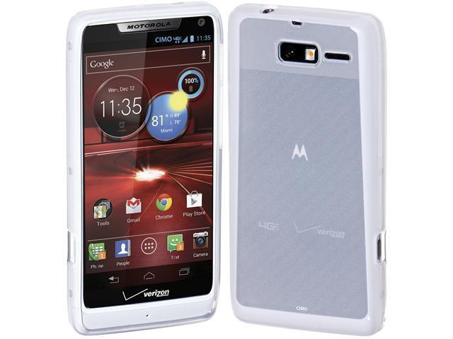 huge selection of b5a1d 53eb8 Cimo Gloss Back Case Flexible TPU Cover for Motorola DROID RAZR M (XT907,  4G LTE, Verizon) - Clear - Newegg.com