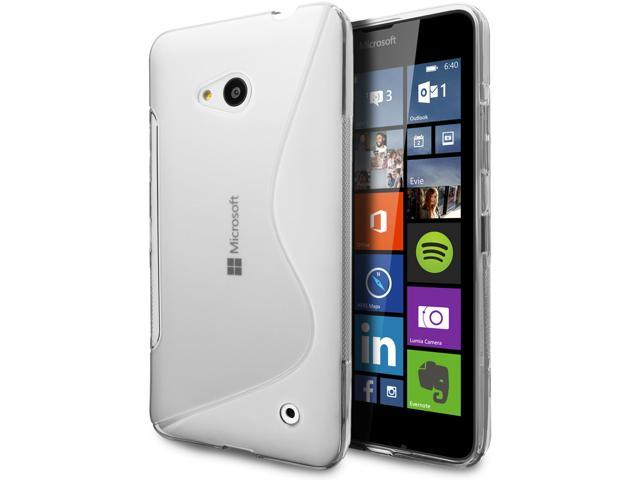 the latest 36dd2 91a57 Microsoft Lumia 640 Case, Cimo [Wave] Premium Slim TPU Flexible Soft Case  for Microsoft Lumia 640 - Clear - Newegg.com