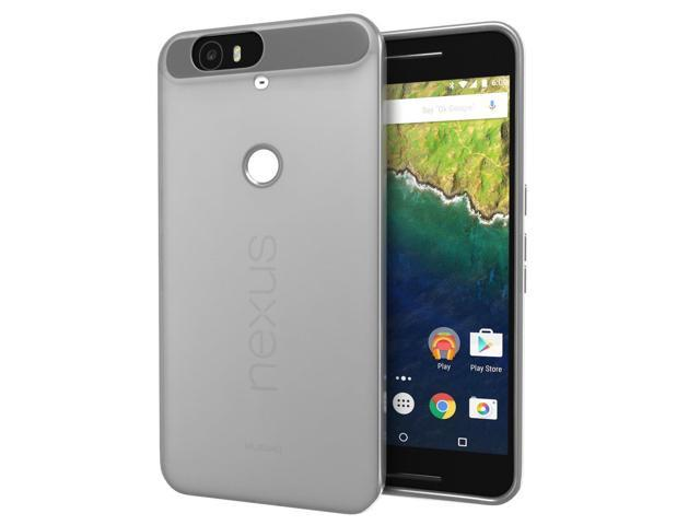 huge discount c77a0 e72be Nexus 6P Case, Cimo [Matte] Premium Slim Fit Flexible TPU Cover for Huawei  Google Nexus 6 (2015) - Smoke - Newegg.com