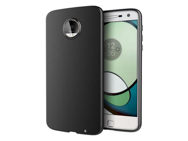 new style b060d 8a7f1 Moto Z Play Case, Cimo [Matte] Premium Slim Protective Cover for Motorola  Moto Z Play Droid (2016) - Black - Newegg.com