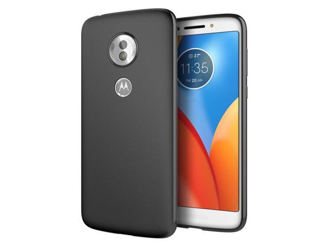 new style 22776 1e69d Cimo Slim Matte Moto G6 Play Case with Premium TPU Protection for Motorola  Moto G6 Play - Black - Newegg.com