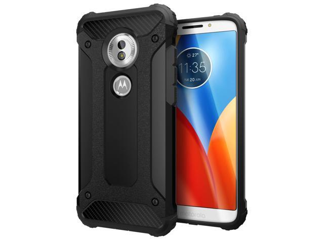 sale 1a2a2 43dd0 Cimo Carbon Armor Moto G6 Play Case with Dual Layer Protection and Rugged  Hybrid Shell for Motorola Moto G6 Play - Black - Newegg.com