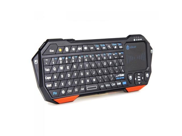 Hisgadget Ultra Portable Rechargeable Mini Wireless Bluetooth Keyboard With Mouse Touchpad Backlight For Android 3 0 Tablets Mac Os Windows Ipad 2 3 4 5 Ipad Mini Ps3 Htpc Iptv Htpc Newegg Com