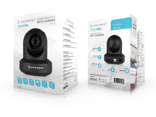 Amcrest ProHD 1080P WiFi Camera 2MP (1920TVL) Indoor Pan/Tilt Security  Wireless IP Camera IP2M-841B (Black) - Newegg com
