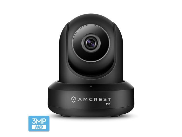 Amcrest UltraHD 2K (3MP/2304TVL) WiFi Video Security IP Camera with  Pan/Tilt, Dual Band 5ghz/2 4ghz, Two-Way Audio, 3-Megapixel @ 20FPS, Wide  90°