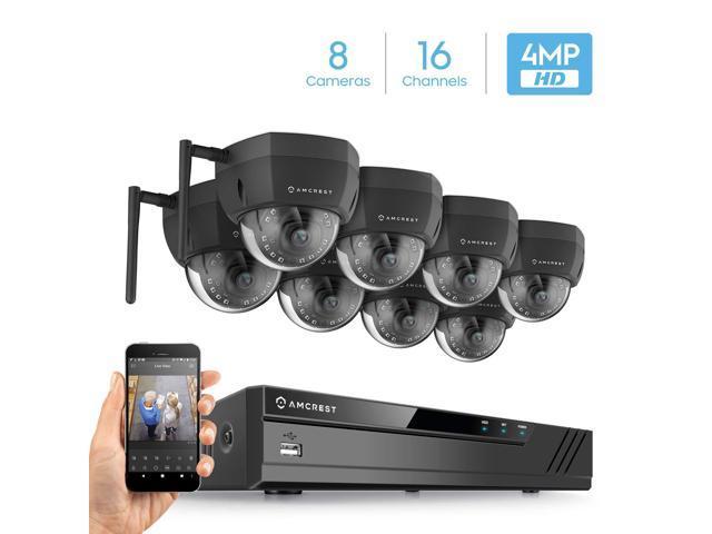 16CH 720P//1080P//3MP//4MP//5MP//6MP//8MP//4K Amcrest No WiFi NV4116-2TB
