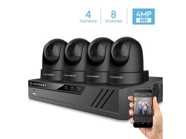 Amcrest 4MP UltraHD Indoor WiFi Security IP Camera Pan//Tilt Dual-Band IP4M-1051B