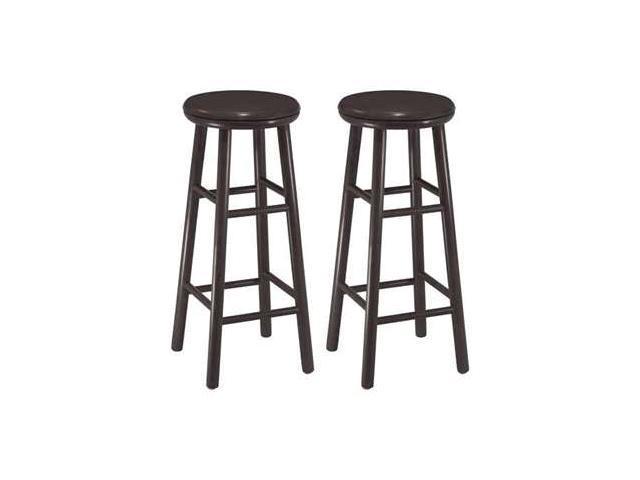 Outstanding 30 Espresso Swivel Bar Stool Set Of 2 By Winsome Wood Newegg Com Lamtechconsult Wood Chair Design Ideas Lamtechconsultcom
