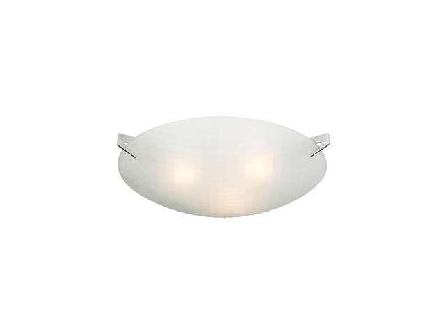 Plc Lighting Contemporary 3 Light Ceiling Polished Chrome 12146 Pc Newegg