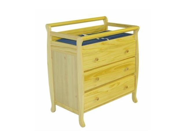 Dream On Me Liberty Collection 3 Drawer Changing Table, Natural   601 N
