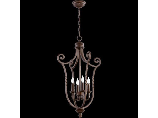 Quorum Tribeca Ii 4 Light Entry Oiled Bronze 6878 86 Newegg