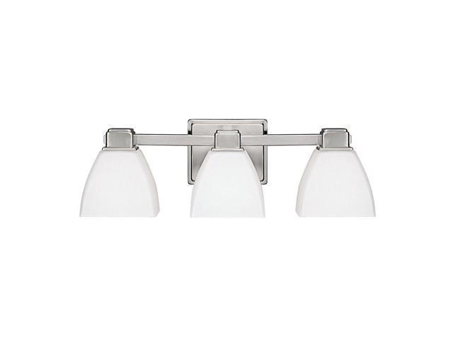 Capital Lighting 4 Light Vanity Fixture Brushed Nickel: Capital Lighting 3 Light Vanity Fixture, Brushed Nickel