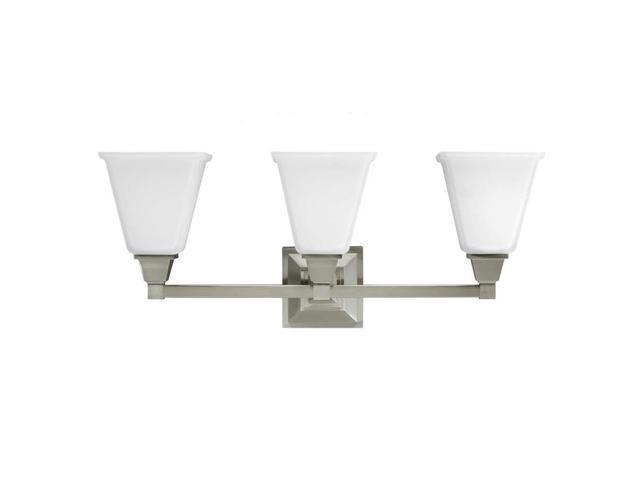 Sea Gull Lighting 44236 962 2 Light Brushed Nickel: Sea Gull Lighting 4450403-962 , Brushed Nickel