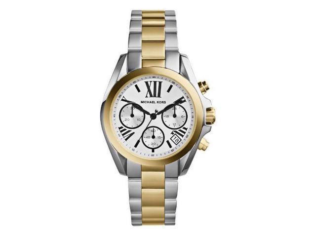 Michael Kors Bradshaw Chronograph Two Tone Womens Watch MK5912