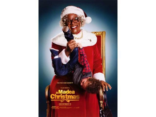 Madea Christmas.Tyler Perry S A Madea Christmas Movie Poster 27 X 40 Newegg Com