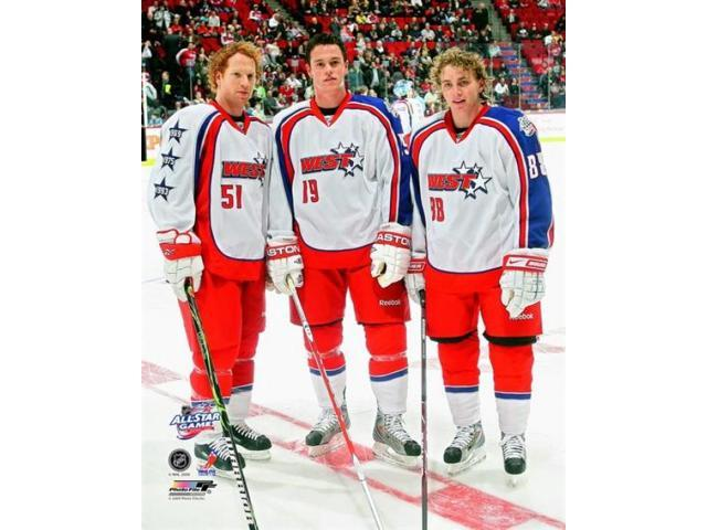premium selection 55efd 08329 Brian Campbell Jonathan Toews and Patrick Kane 2008-09 NHL All-Star Game  Photo Print (8 x 10) - Newegg.com