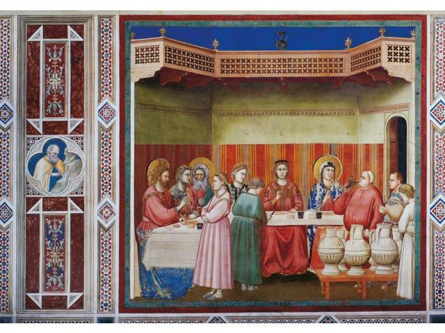 Wedding Feast At Cana.Stories Of Christ The Wedding At Cana Or The Marriage Feast At Cana Poster Print 24 X 18 Newegg Com