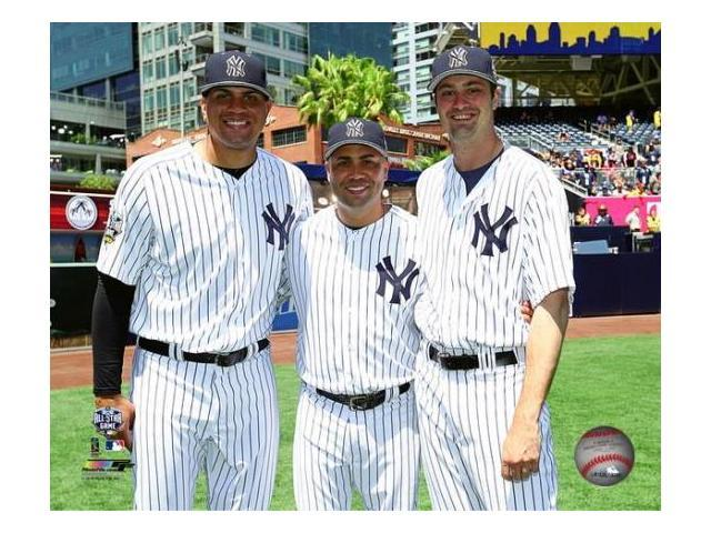 Dellin Betances Carlos Beltran Andrew Miller 2016 Mlb All Star Game Photo Print 8 X 10