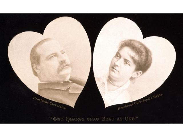 Grover Cleveland And Frances Folsom 1886 Poster Print By Science Source 24 X 18