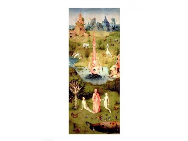 Bosch Gardens of Earthly Delights art poster 24x36/""