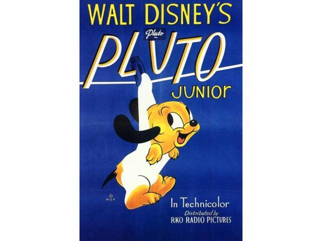 Posterazzi MOVEF3326 Pluto Junior Movie Poster - 27 x 40 in  - Newegg com