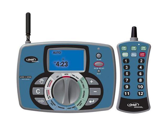 Orbit 91922 12 Station Zone Sprinkler Timer with Remote Control ...