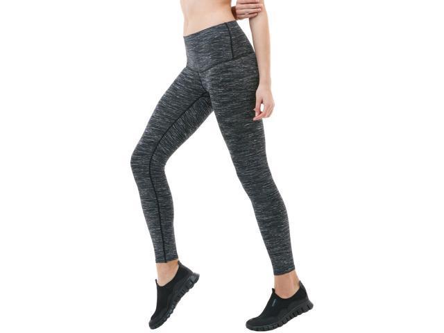9471521300c2f3 Tesla FYP52 Women's Tummy Control Yoga Pants - Medium - Space Dye Charcoal