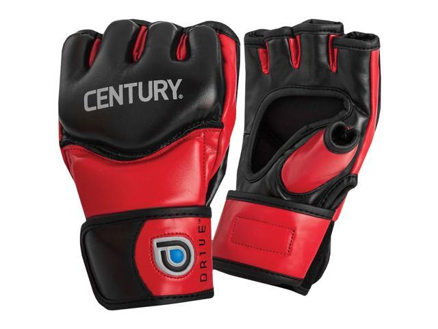 cbd404c1f7d1a Century Drive Open Palm MMA Training Gloves - XL - Red/Black ...