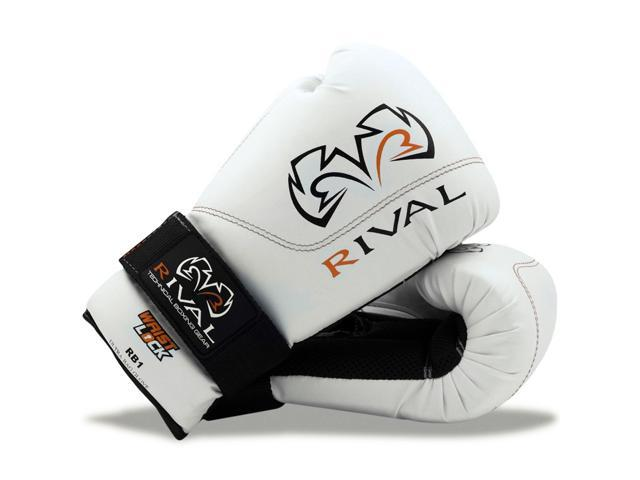 Rival Boxing RB1 Hook and Loop Ultra Bag Gloves Black