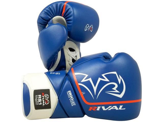 Rival Boxing Gloves rs100 Professional Sparring Training Unit White