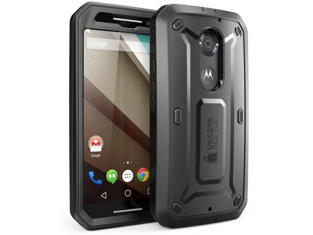 Moto X Case, SUPCASE,Unicorn Beetle Series, Motorola Moto X Case, Hybrid  Bumper Case-Frost Clear/Black - Newegg com
