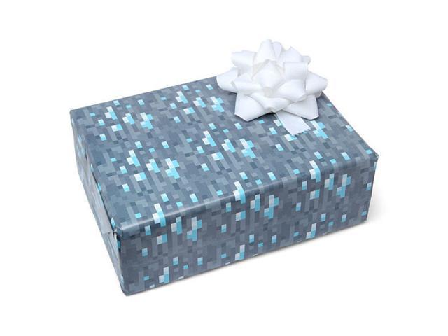 Diamond Ore Minecraft Wrapping Paper - Newegg com