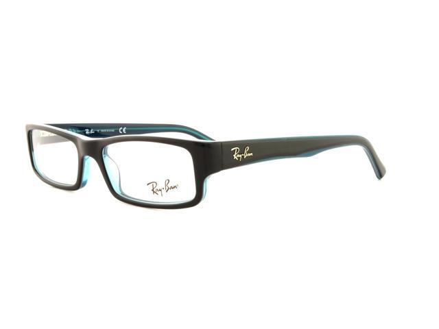 a32aea6e8e RAY BAN Eyeglasses RB 5246 5092 Black Grey Turquoise 50MM ...