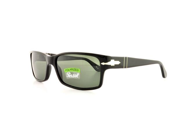 97cd23853dba PERSOL Sunglasses PO 2803S 95/58 Black 58MM - Newegg.com