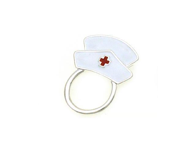 6e07331906f8 White Nurse s Hat Magnetic Eyeglass Holder Clip - Newegg.com