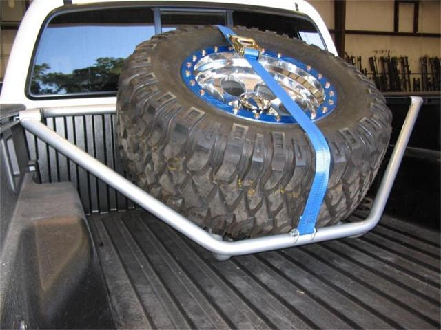 N Fab T051tr Spare Tire Rack 05 13 Tacoma