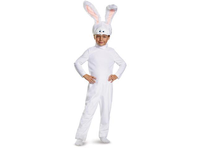 Girls The Secret Life Of Pets Snowball Rabbit Bunny Costume Toddler