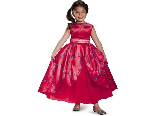 5bb484c53b4f Childs Girl's Deluxe Disney Princess Elena Of Avalor Dress Costume Toddler  3T-4T