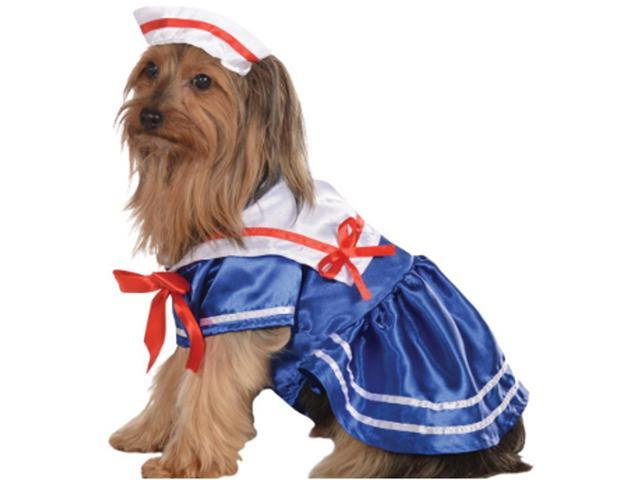 sailor girl navy naval dog pet costumes size xl x large 28