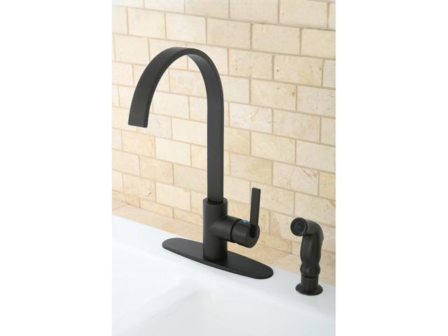 Continental Modern Oil Rubbed Bronze Kitchen Faucet ...
