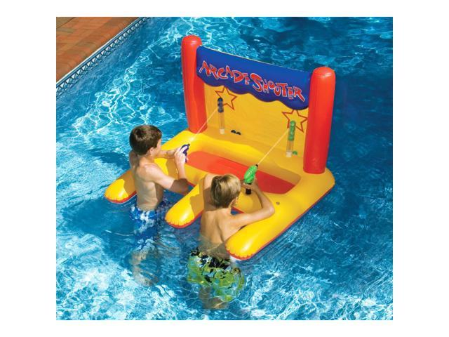 Swimline Dual Arcade Shooter Inflatable Pool Toy - Newegg.com