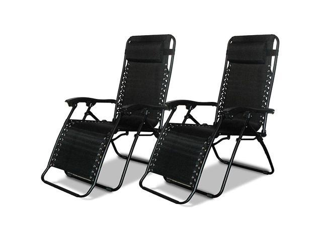Excellent Caravan Canopy Black Zero Gravity Chairs Pack Of Two Newegg Com Alphanode Cool Chair Designs And Ideas Alphanodeonline