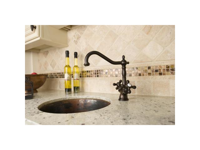 Oil-rubbed Bronze Kitchen Faucet - Newegg.com