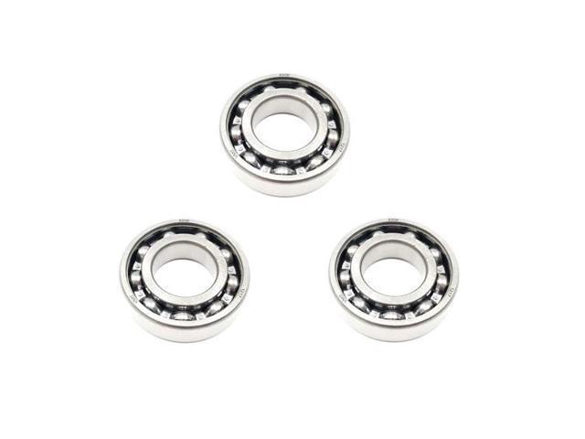 3x 6003 Single Row Deep Groove Ball Bearings 17x35x10mm