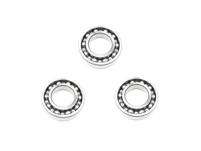 3x 6209 Single Row Deep Groove Ball Bearings 45x85x19 mm