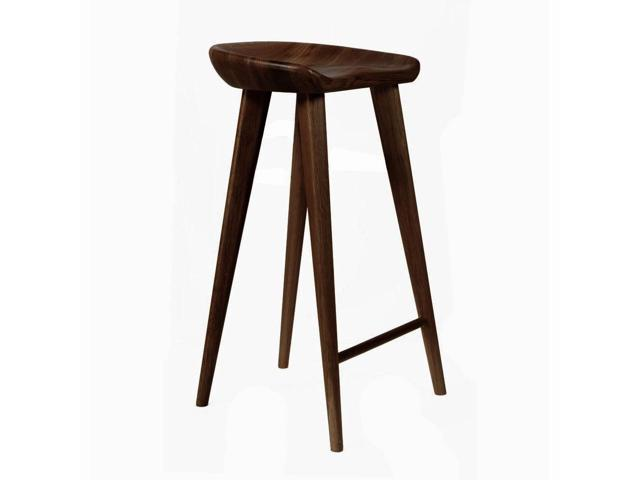 Excellent Tractor Contemporary Carved Wood Barstool Espresso Finish Newegg Com Gmtry Best Dining Table And Chair Ideas Images Gmtryco