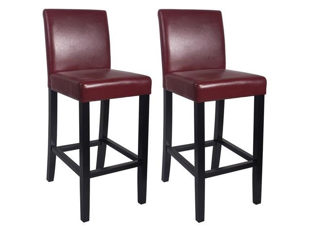 Vandue Kendall 29 Contemporary Woodleather Bar Counter Stool